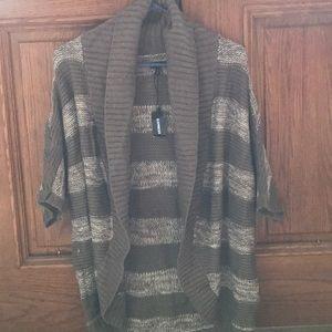 Express dolman short sleeve cardigan sweater S